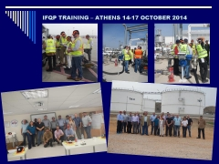 IFQP TRAINING at OFC (14-17.10.2014)